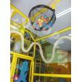 κατασκευή παιδότοπων - καταρακτης από μπαλάκια